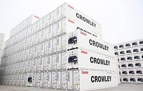 Contenedores refrigerados Crowley de alta tecnología